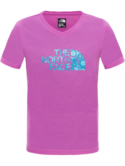 The North Face Girls Reaxion S/S Tee Sweet Violet